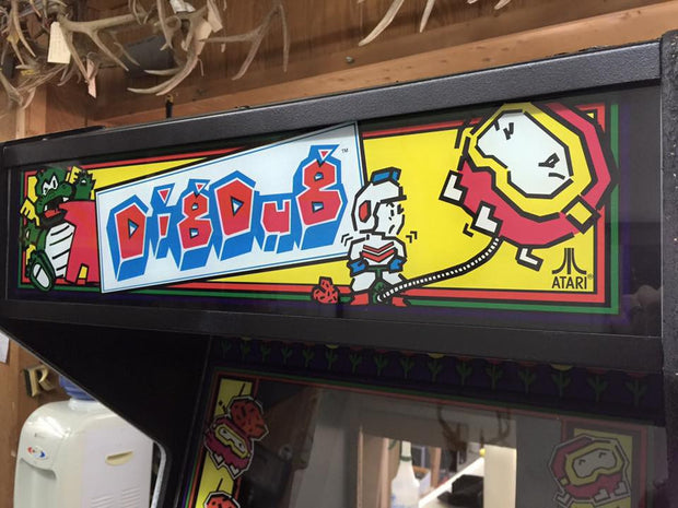 Dig Dug Marquee