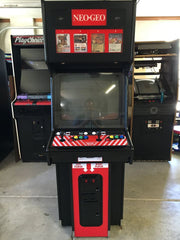NEO-GEO Side and Front Art- MVS2 4 & 6 slot machines