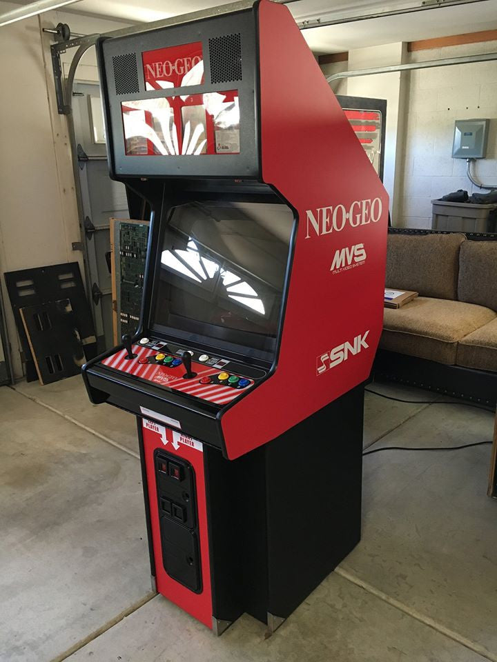 NEO-GEO Side Art only- fits MVS2-4 & 6 slot machines
