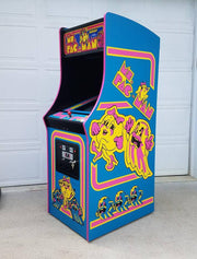 Ms. Pacman Side Art