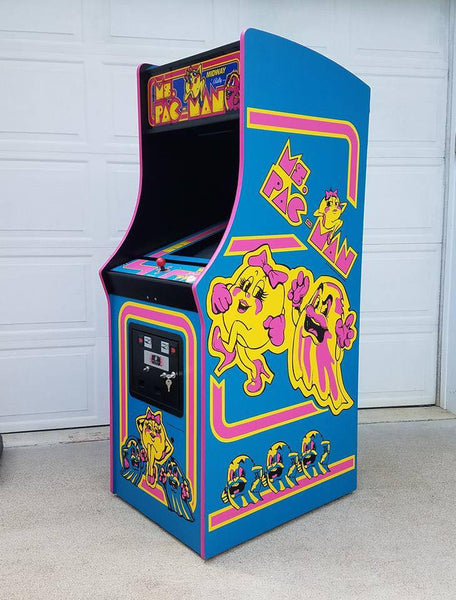 Ms Pacman Side Art