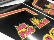 Ms. Pacman Cabaret- Sides and Front
