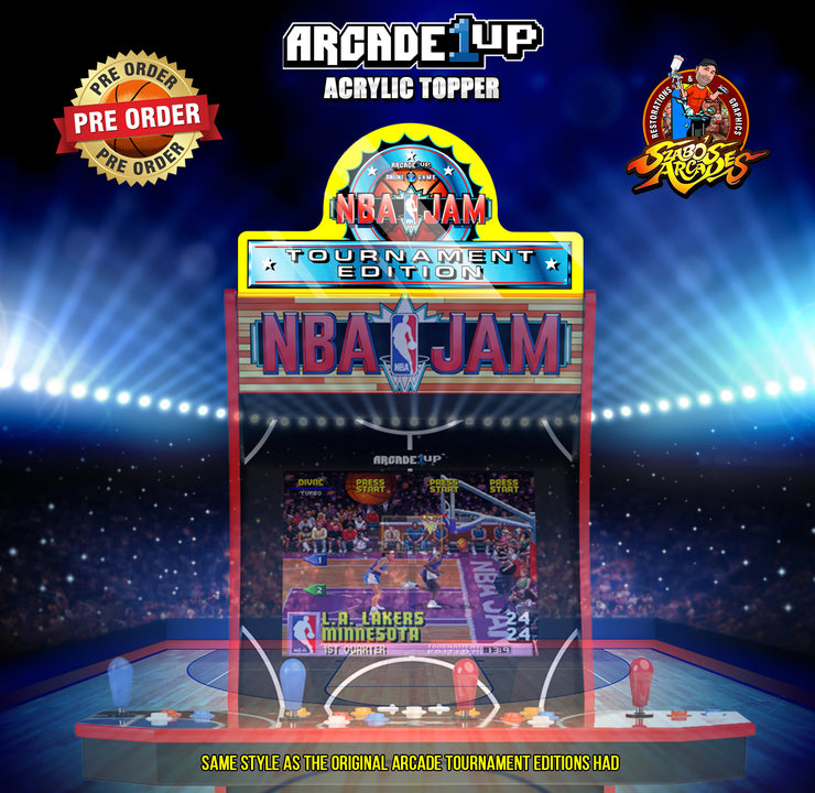 Arcade 1up NBA JAM topper