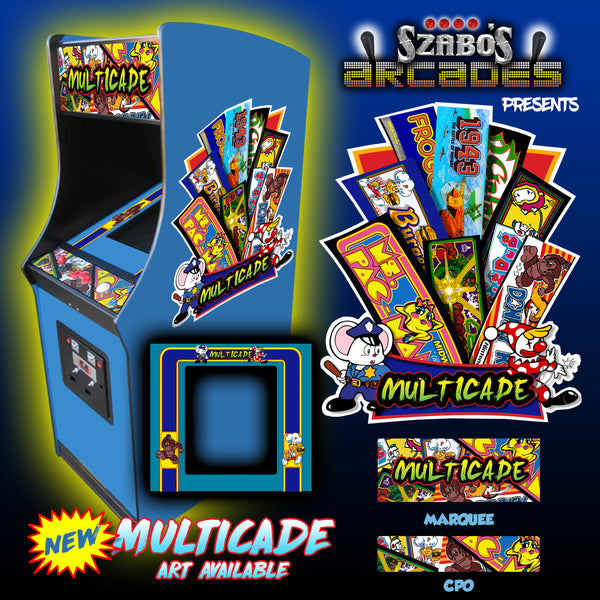 Multicade side art