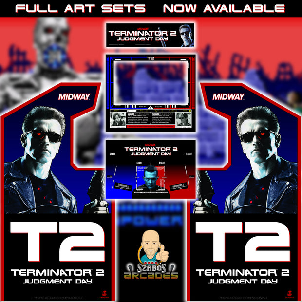 Terminator 2 Full Art Kit