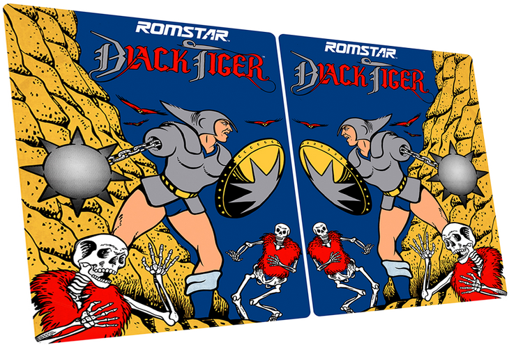 Black Tiger- Side Art