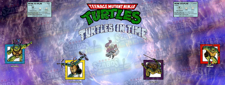 Turtles in Time CPO-custom