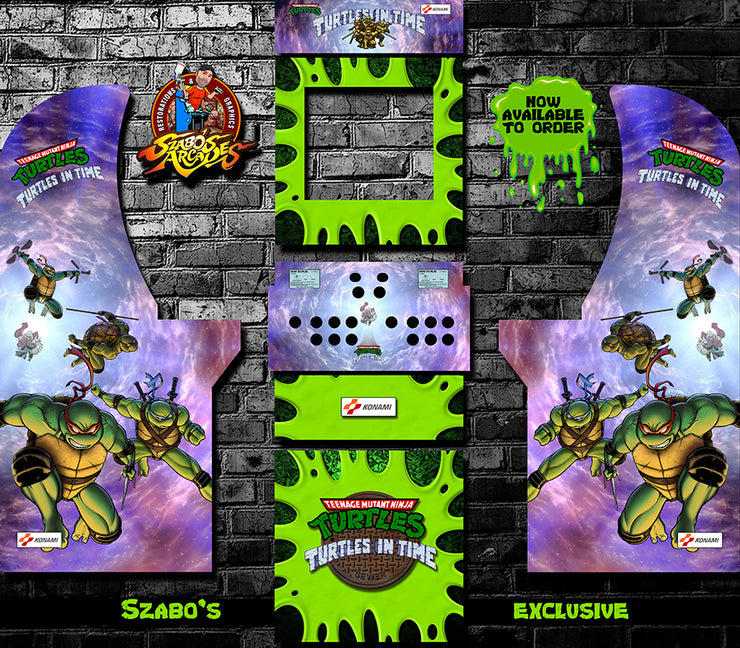 Arcade 1up Turtles in Time full kit