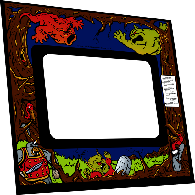 Ghosts n Goblins Bezel