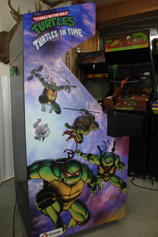 Turtles in Time- Custom Side Art