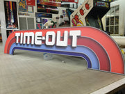 Time out PVC signs