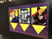 XMen coin door decals