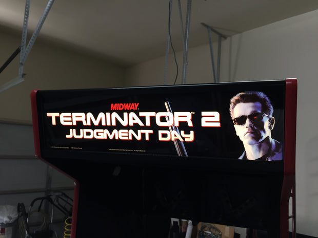 Terminator 2 Sides and Front Art