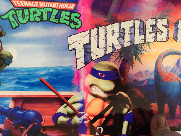 Original Turtles in time Art set