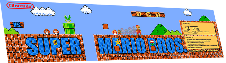 Super Mario Brothers marquee