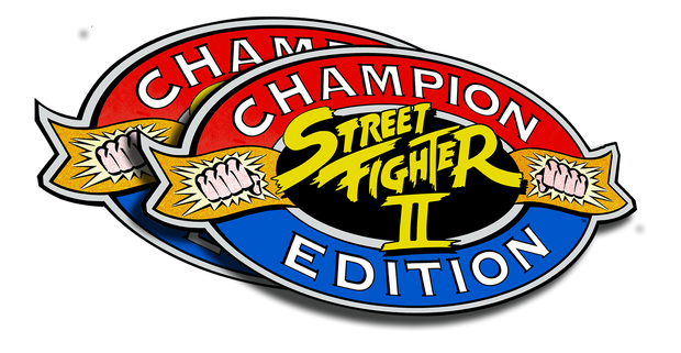 Street Fighter 2 Champion Edition- Side Art