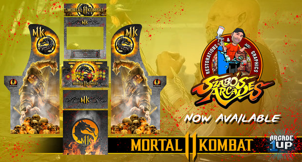 Arcade 1up- Mortal Kombat 11 Bezel only