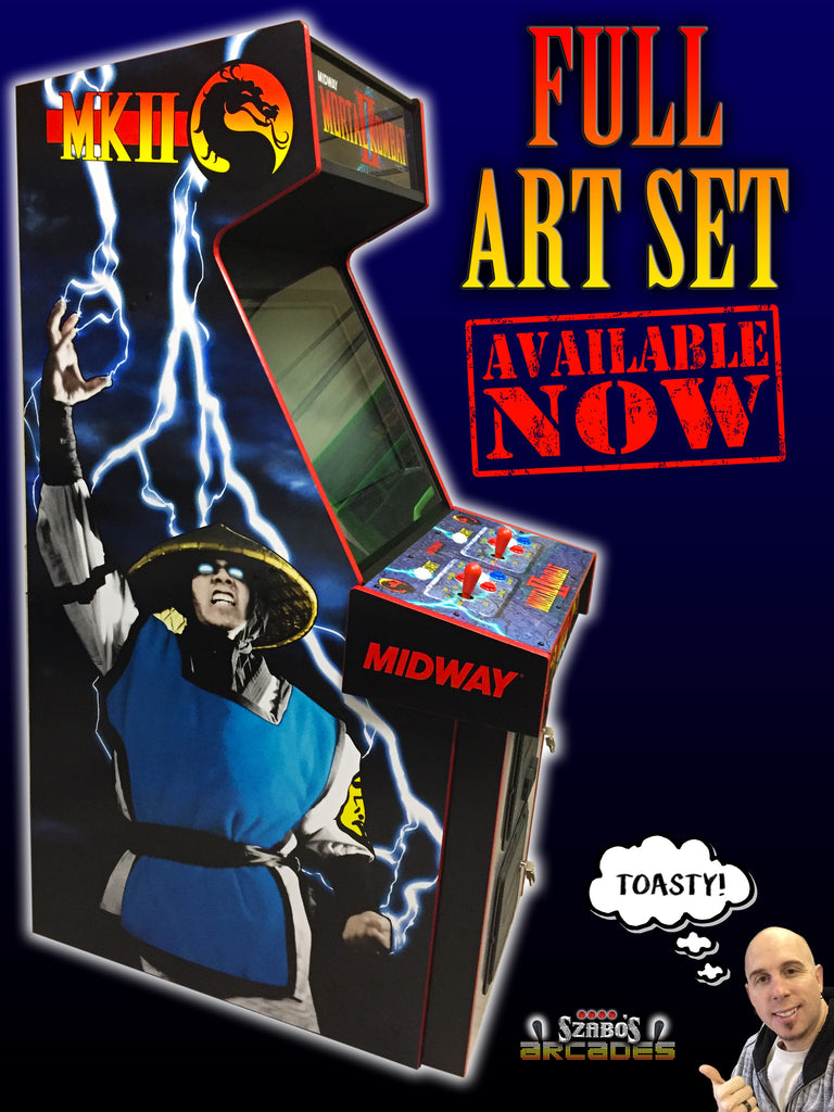 Mortal Kombat 2 full art package.