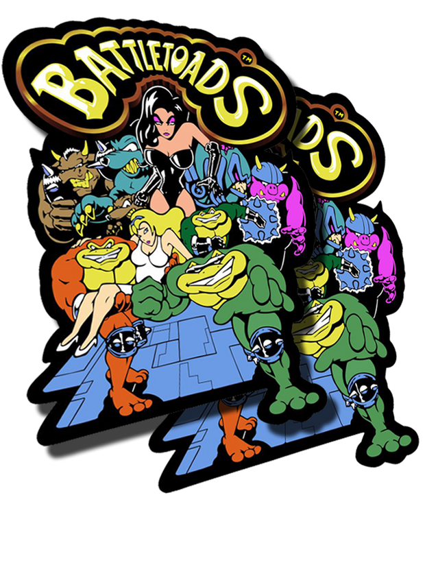 Battletoads Side Art