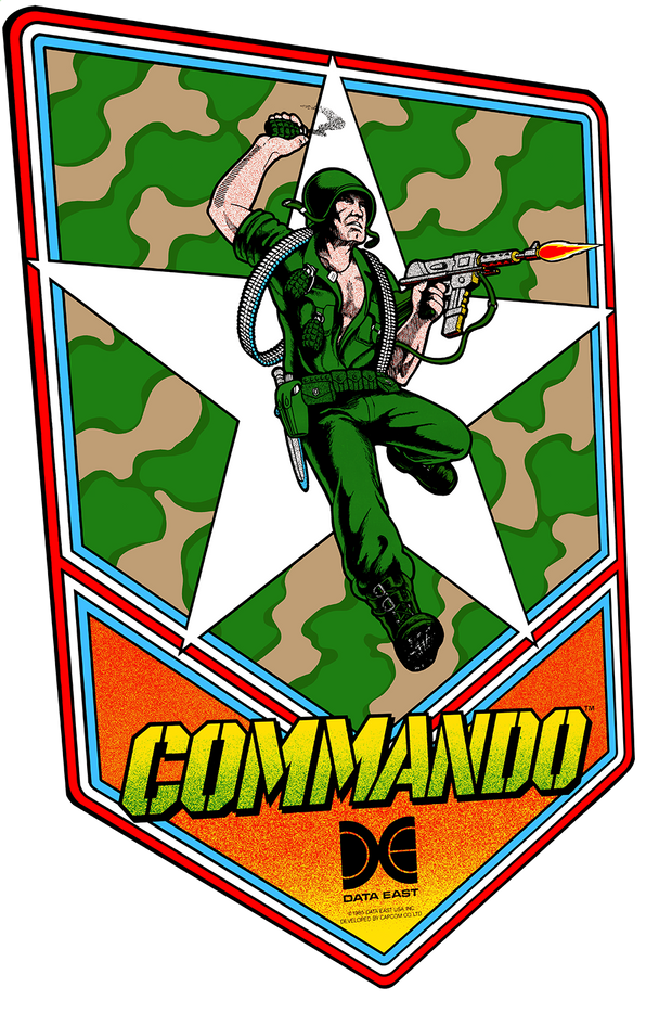 Commando Side Art