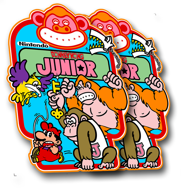 Donkey Kong Jr. Side Art
