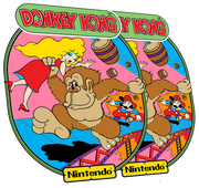 Donkey Kong Side Art