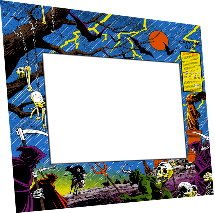 Ghouls n Ghosts Bezel