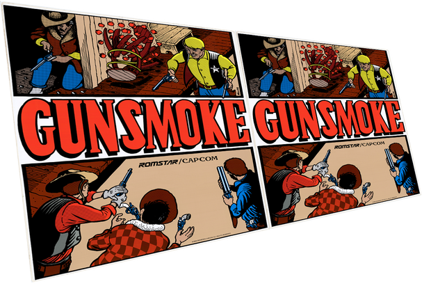 Gunsmoked- Side Art