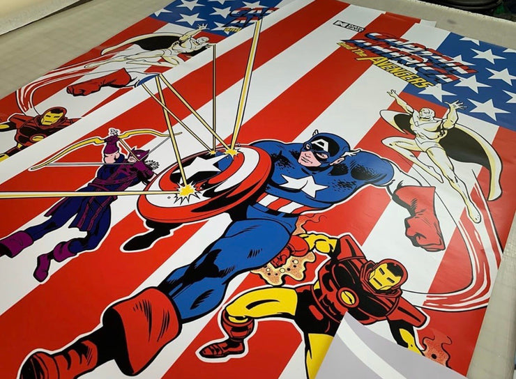 Captain America- Side Art