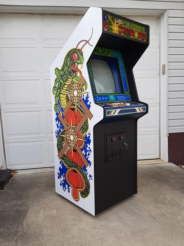 Centipede-Side Art
