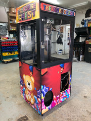 Claw Machine Side and Front Art