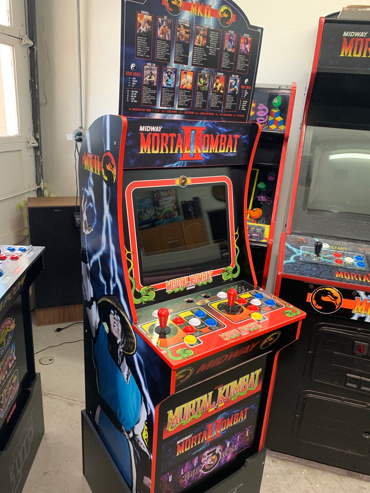 Arcade 1up Mortal Kombat 2 topper