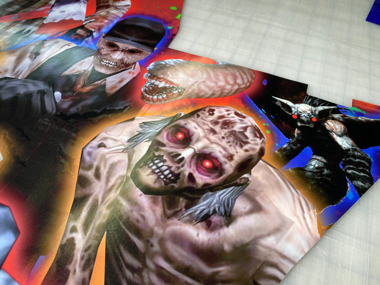 Legends Ultimate The House Of The Dead art kit
