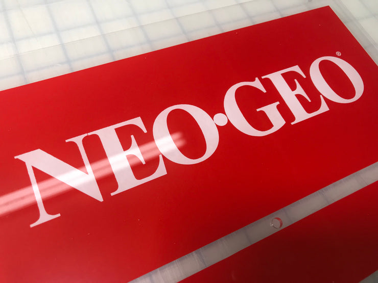 NEO-GEO MVS2-4 marquee for BIG RED cabinet