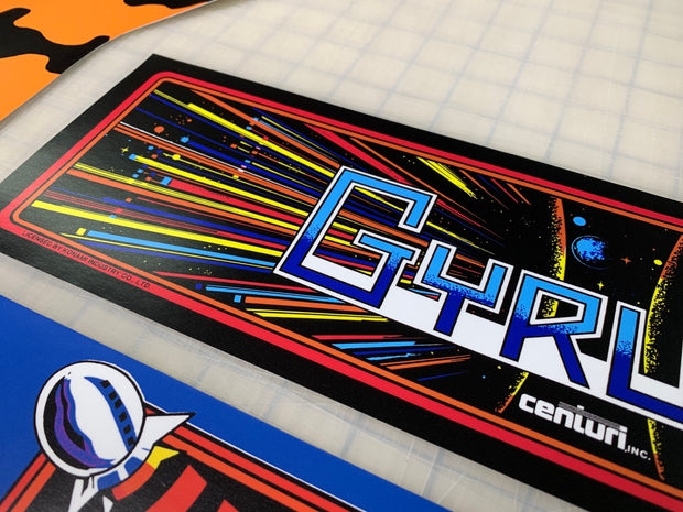 Arcade 1up Gyruss full art kit