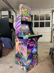 Arcade 1up Ninja Turtles topper