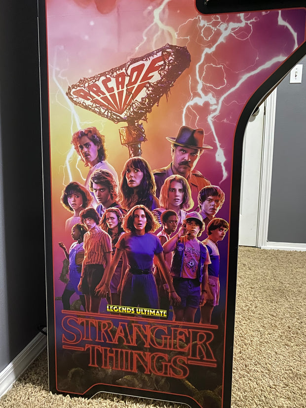 Legends Ultimate Stranger Things sides and front art