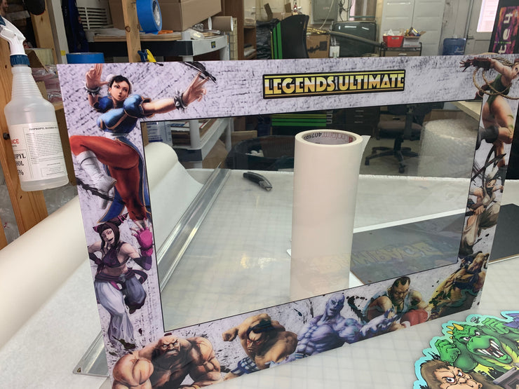Legends Ultimate (Street Fighter 4) Bezel