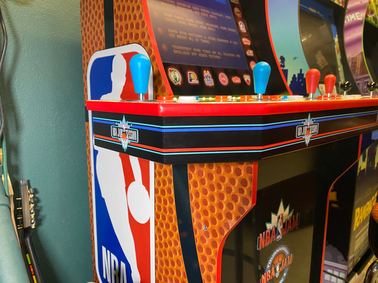Arcade 1up NBA JAM Front control panel filler