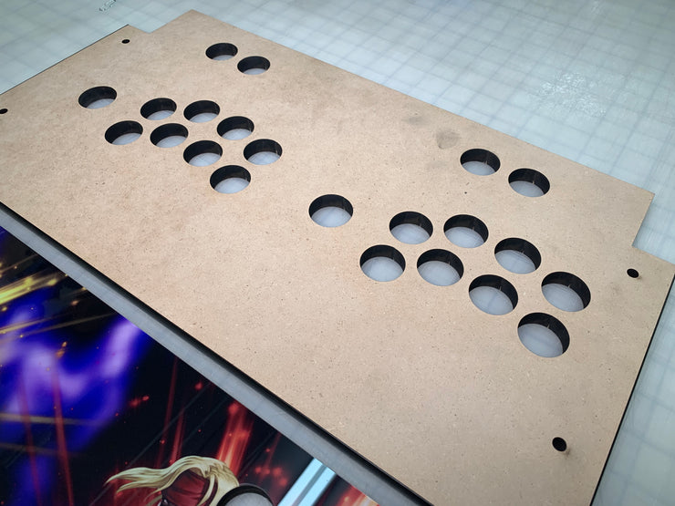Mortal Kombat 11 Wood Control Panel-Arcade 1 up