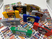 All NEW CLEAR N64 Labels
