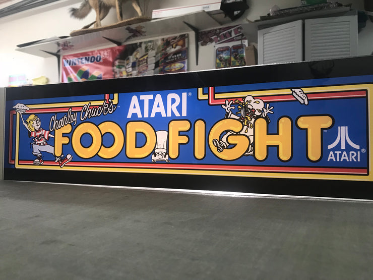 Food Fight Marquee