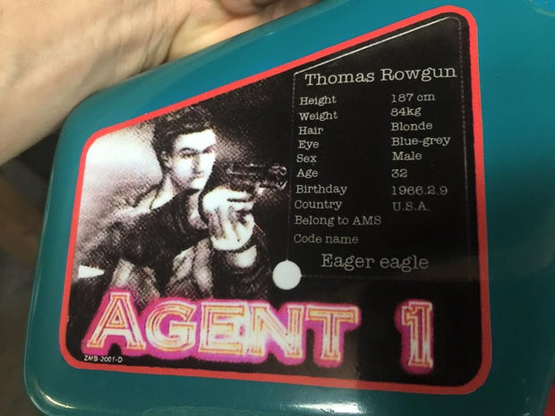 House of Dead Decal- Thomas Rogan and Agent G only