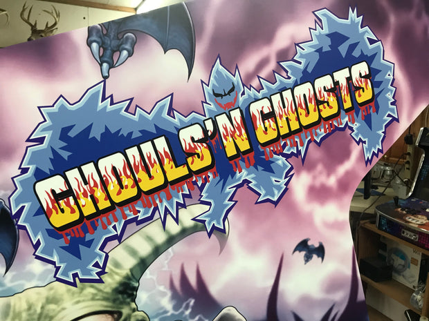 Ghouls N Ghosts -Custom Side Art