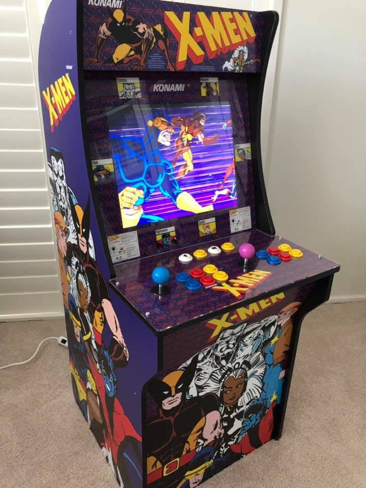 Arcade 1up- Xmen Art kit