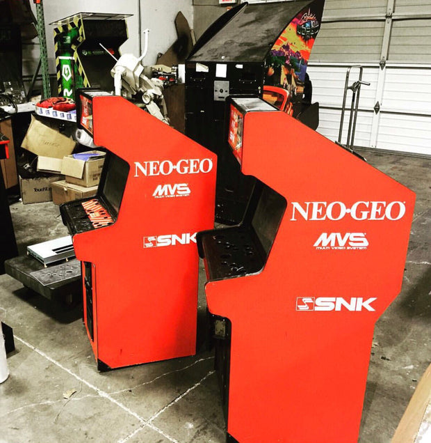NEO-GEO Mini Sides and Front