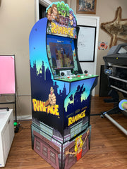 Arcade 1 up Rampage sides, front and riser art