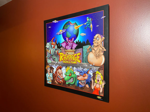 Rampage World Tour wall art