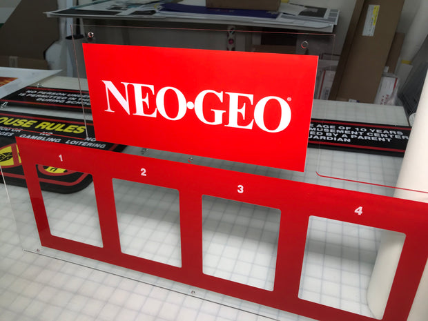 Neo Geo big red 4 Slot full art Kit MVS2-4