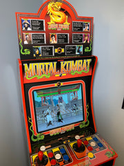 Arcade 1up Mortal Kombat 1 topper